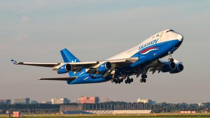 4K-SW888 - Silk Way Airlines Boeing 747-400F, ERF