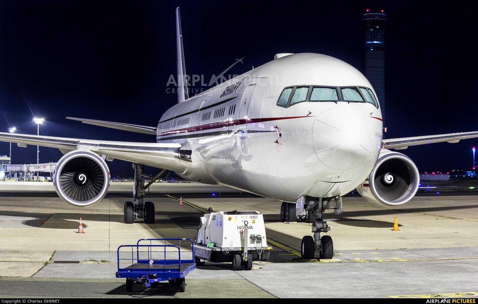 Bahrain Amiri Flight A9C-HMH aircraft at Paris - Charles de Gaulle