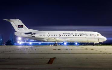 KAF308 - Kenya - Government Fokker 70