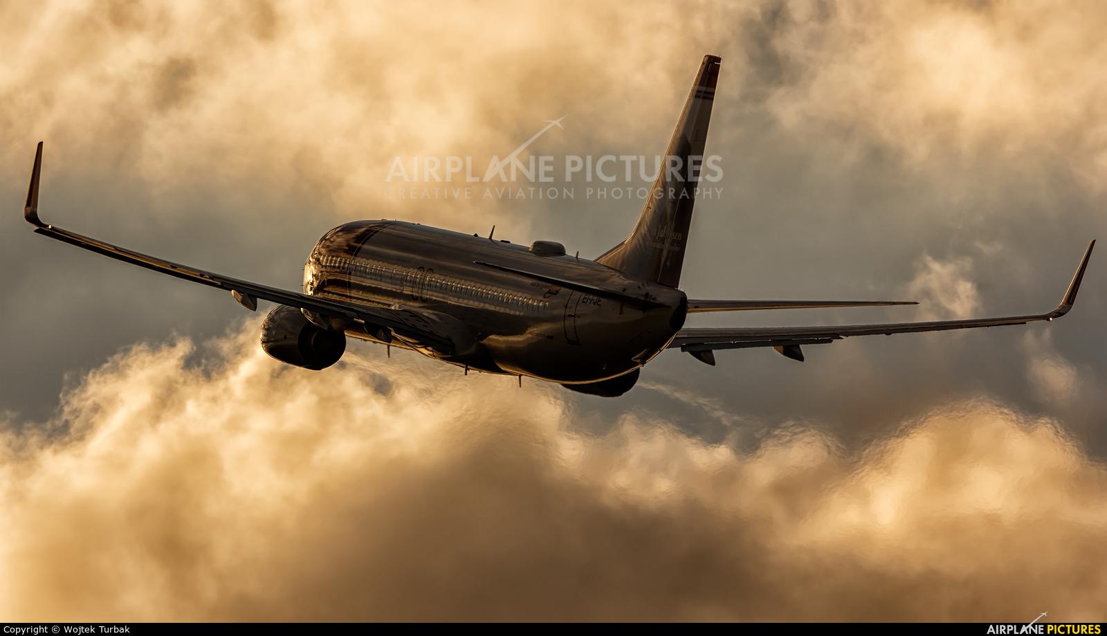 Norwegian Air Shuttle EI-FJE aircraft at Dublin
