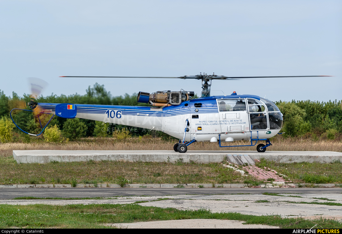 Romania - Police 106 aircraft at Craiova