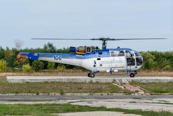 106 - Romania - Police Sud Aviation SA-316 Alouette III