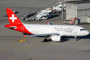 HB-JVK - Helvetic Airways Airbus A319