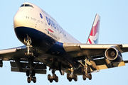 G-CIVM - British Airways Boeing 747-400 aircraft