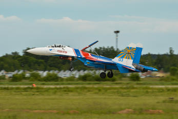 "03-BLUE - Russia - Air Force ""Russian Knights"" Sukhoi Su-27P"