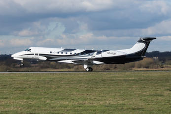 SP-DLB - Blue Jet Embraer EMB-600 Legacy 600