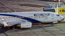 4X-EKP - El Al Israel Airlines Boeing 737-800 aircraft