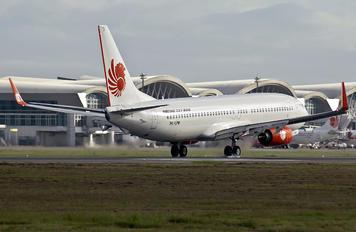 PK-LPM - Lion Airlines Boeing 737-800