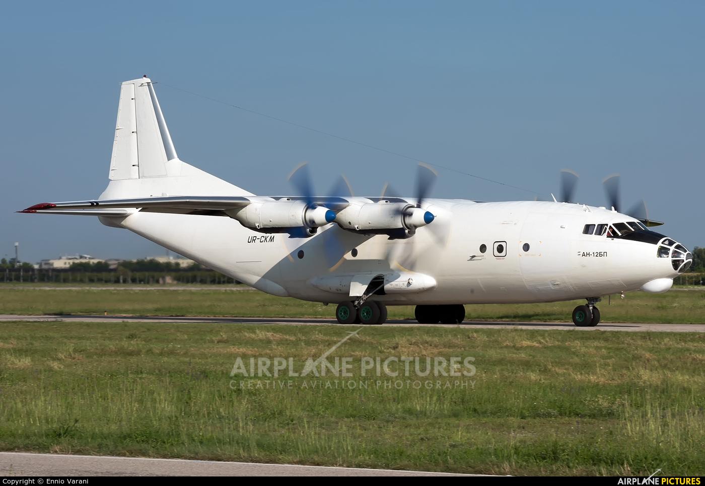 Cavok Air UR-CKM aircraft at Verona - Villafranca