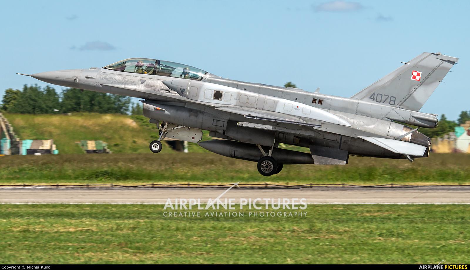 Poland - Air Force 4078 aircraft at Malbork