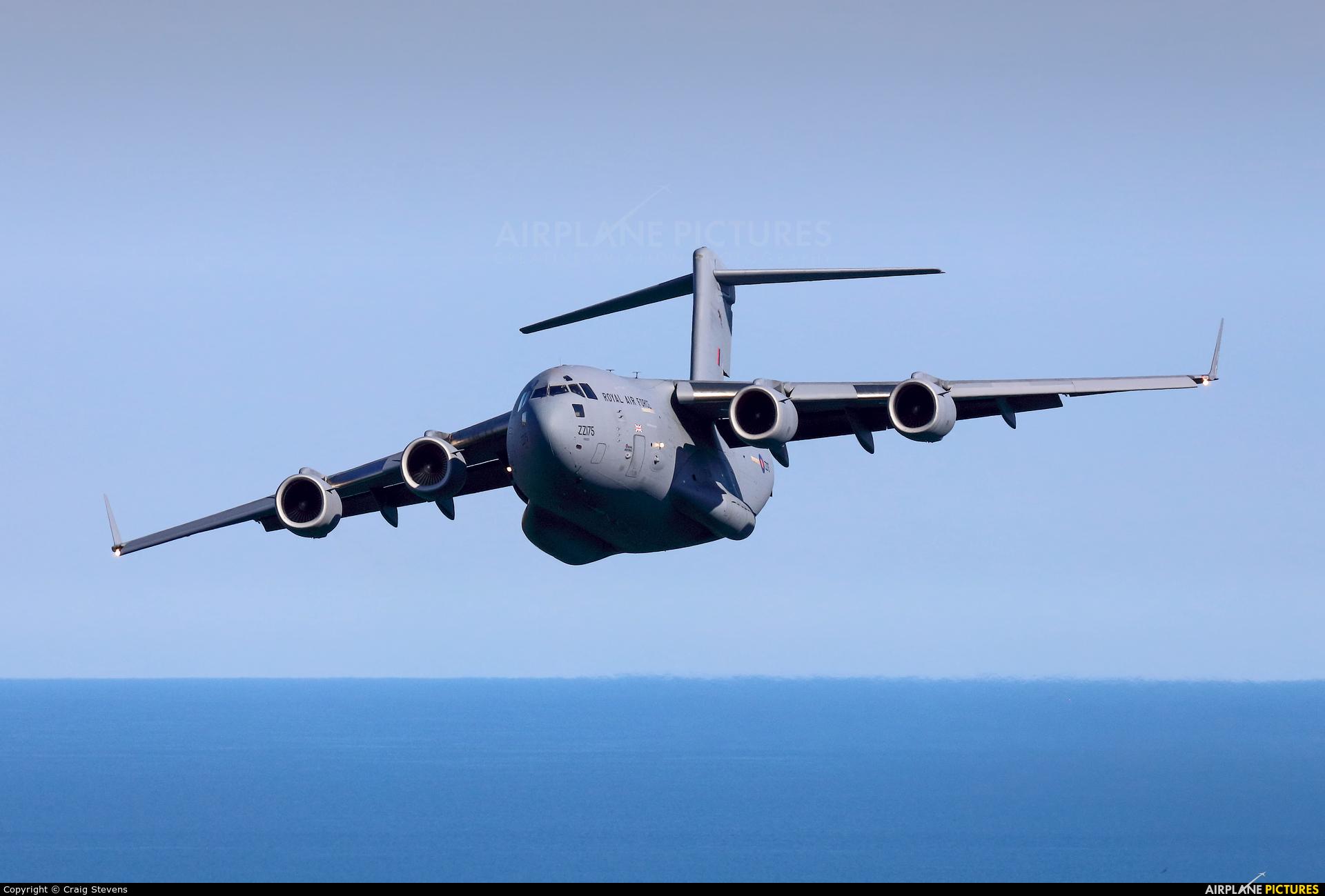 Royal Air Force ZZ175 aircraft at Dartmouth