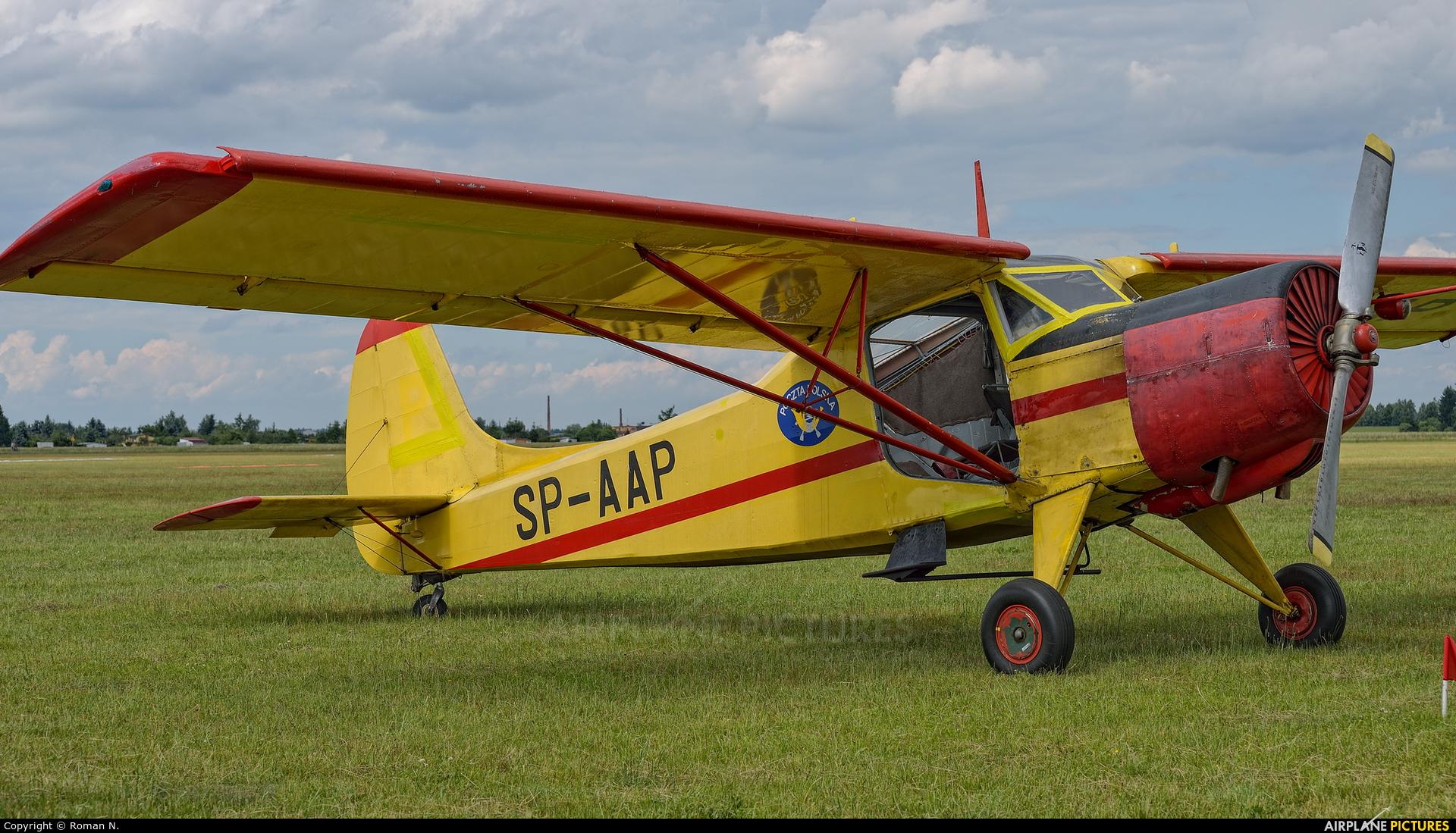 Aeroklub Ziemi Pilskiej SP-AAP aircraft at Leszno - Strzyżewice