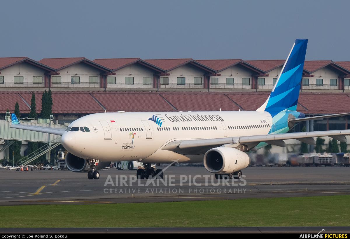 Garuda Indonesia PK-GPN aircraft at Jakarta - Soekarno-Hatta Intl