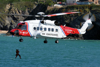 G-MCGY - Bristow Helicopters Sikorsky S-92A