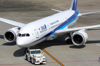 JA832A - ANA - All Nippon Airways Boeing 787-8 Dreamliner