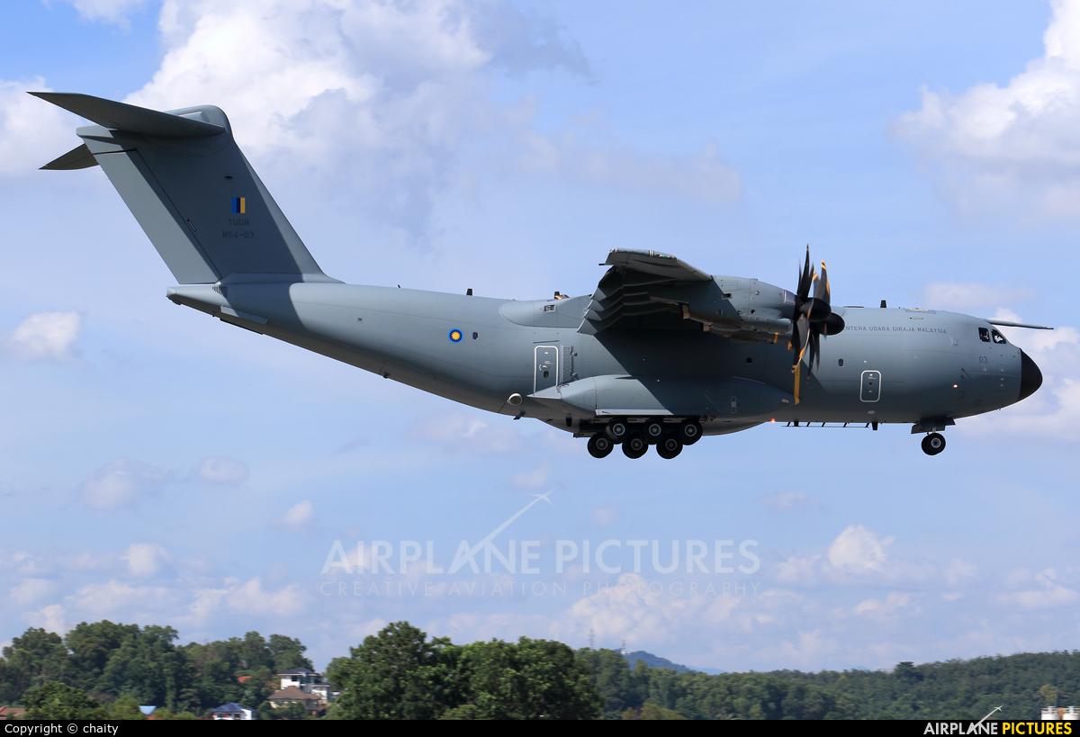 Malaysia - Air Force M54-03 aircraft at Subang - Sultan Abdul Aziz Shah