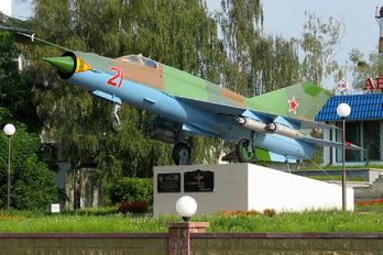 21 - Belarus - Air Force Mikoyan-Gurevich MiG-21MF