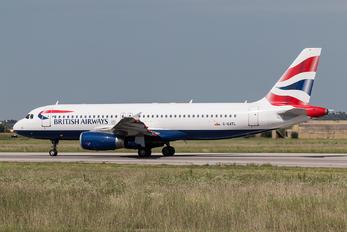 G-GATL - British Airways Airbus A320