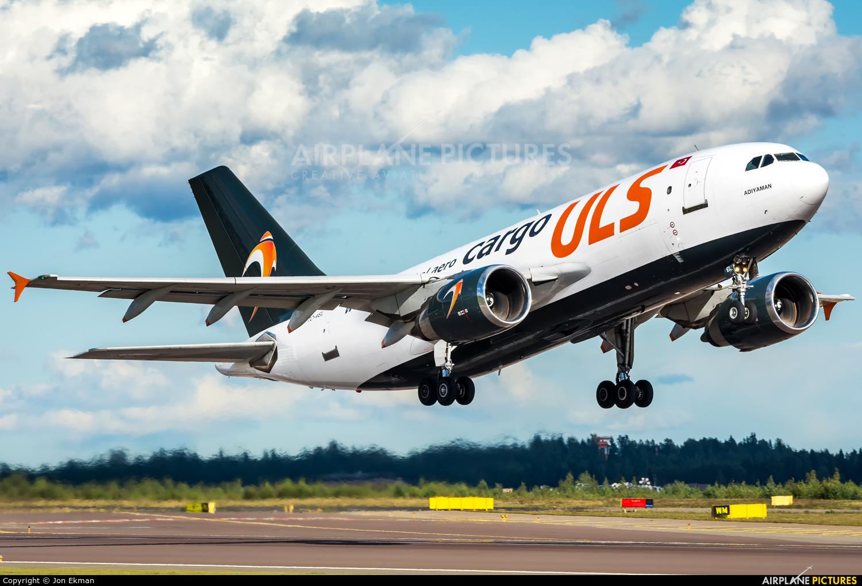 ULS Cargo TC-VEL aircraft at Helsinki - Vantaa