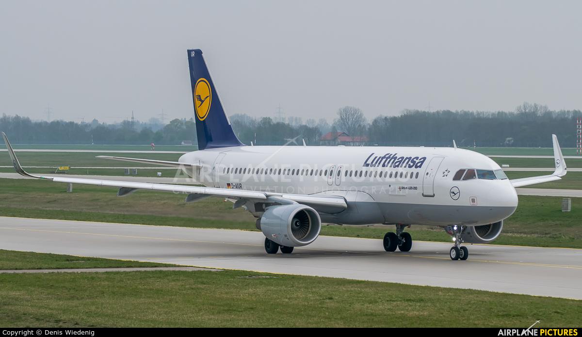 Lufthansa D-AIUR aircraft at Munich