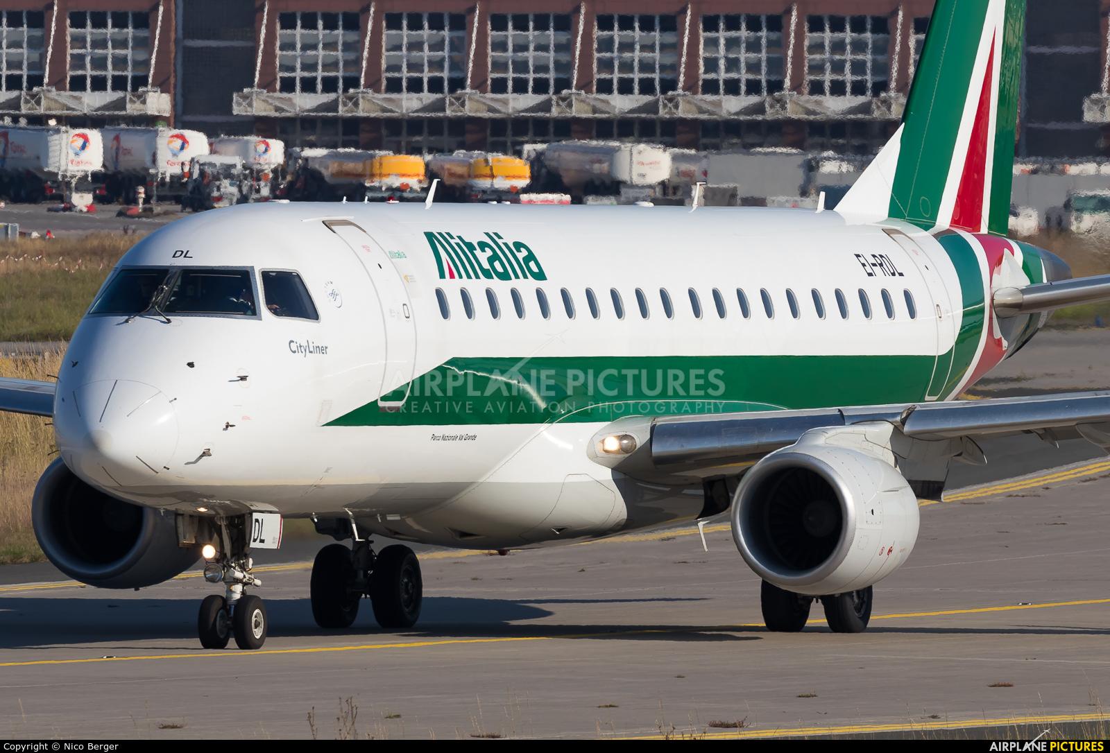 Alitalia EI-RDL aircraft at Frankfurt