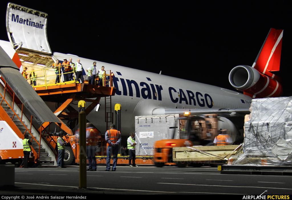 Martinair Cargo PH-MCU aircraft at San Jose - Juan Santamaría Intl