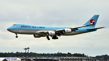 HL7623 - Korean Air Cargo Boeing 747-8F aircraft