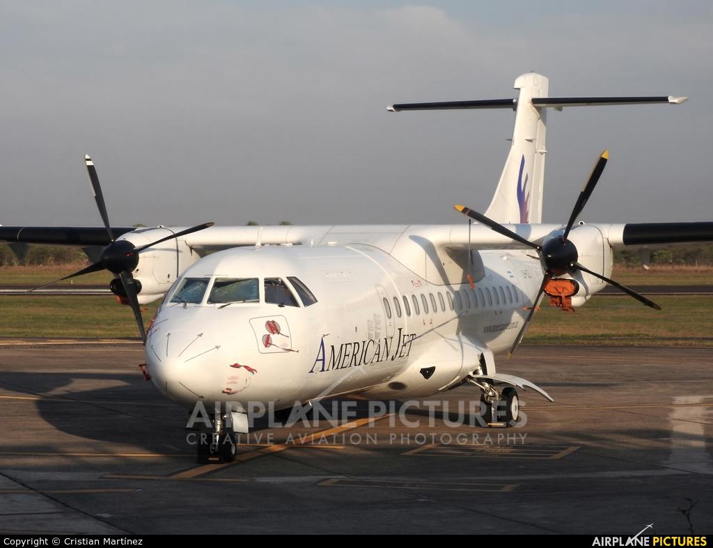 American Jet LV-CZJ aircraft at Formosa Intl