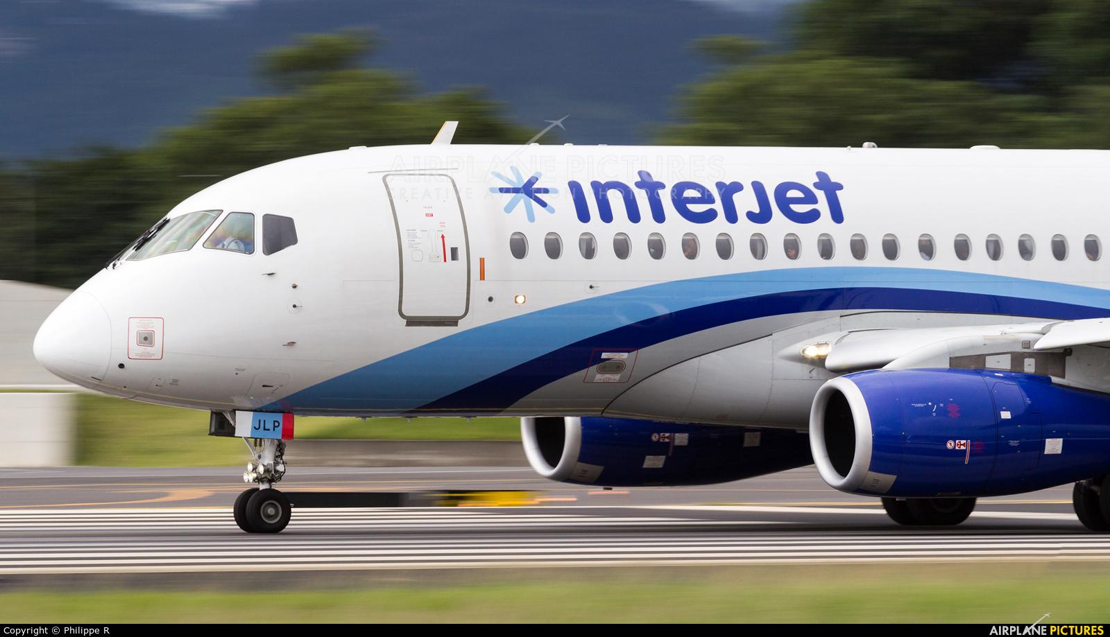 Interjet XA-JLP aircraft at San Jose - Juan Santamaría Intl