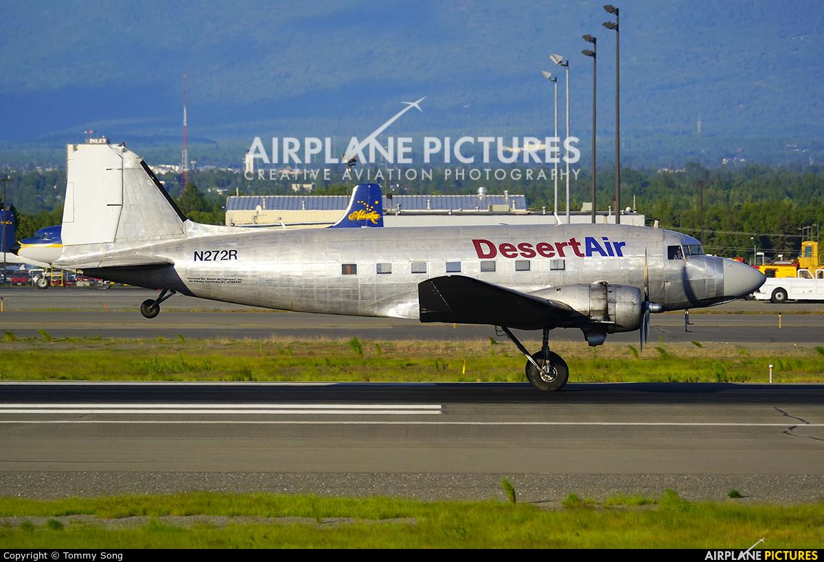 Desert Air N272R aircraft at Anchorage - Ted Stevens Intl / Kulis Air National Guard Base