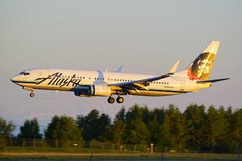 N594AS - Alaska Airlines Boeing 737-800