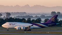 HS-TGA - Thai Airways Boeing 747-400 aircraft