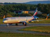 VP-BKI - Aeroflot Airbus A321 aircraft