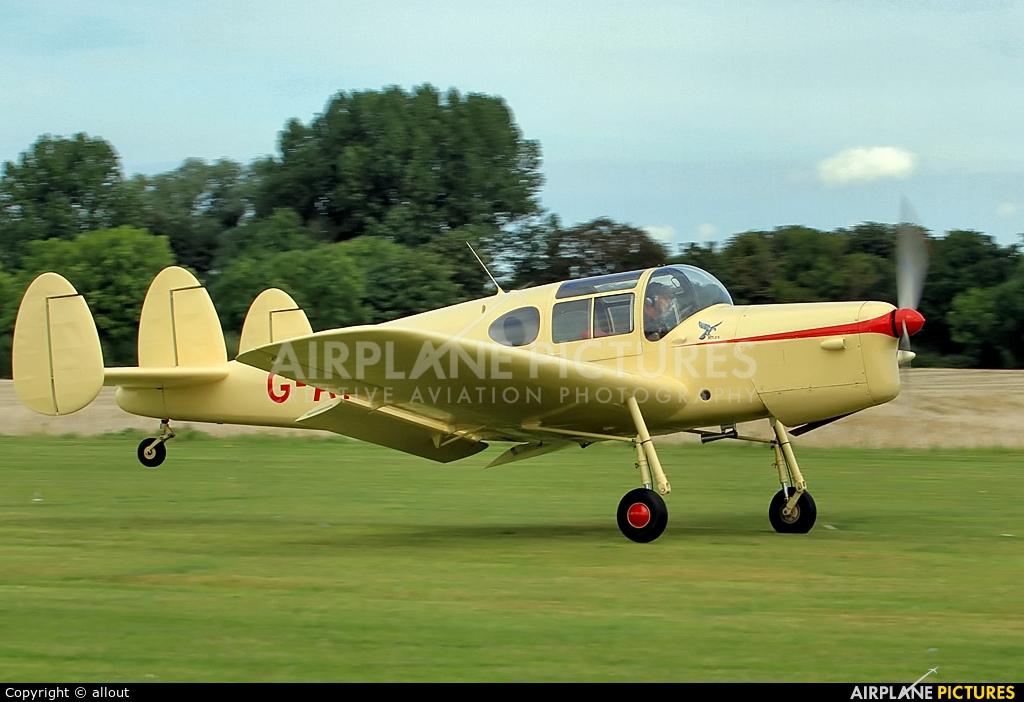Private G-AKBO aircraft at Breighton