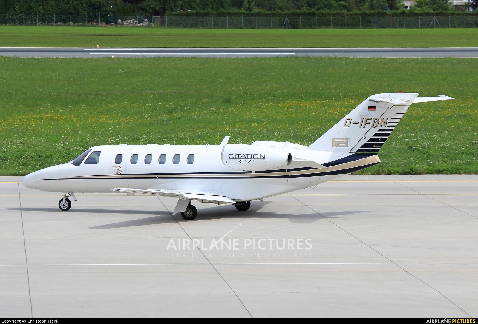 Private D-IFDN aircraft at Innsbruck