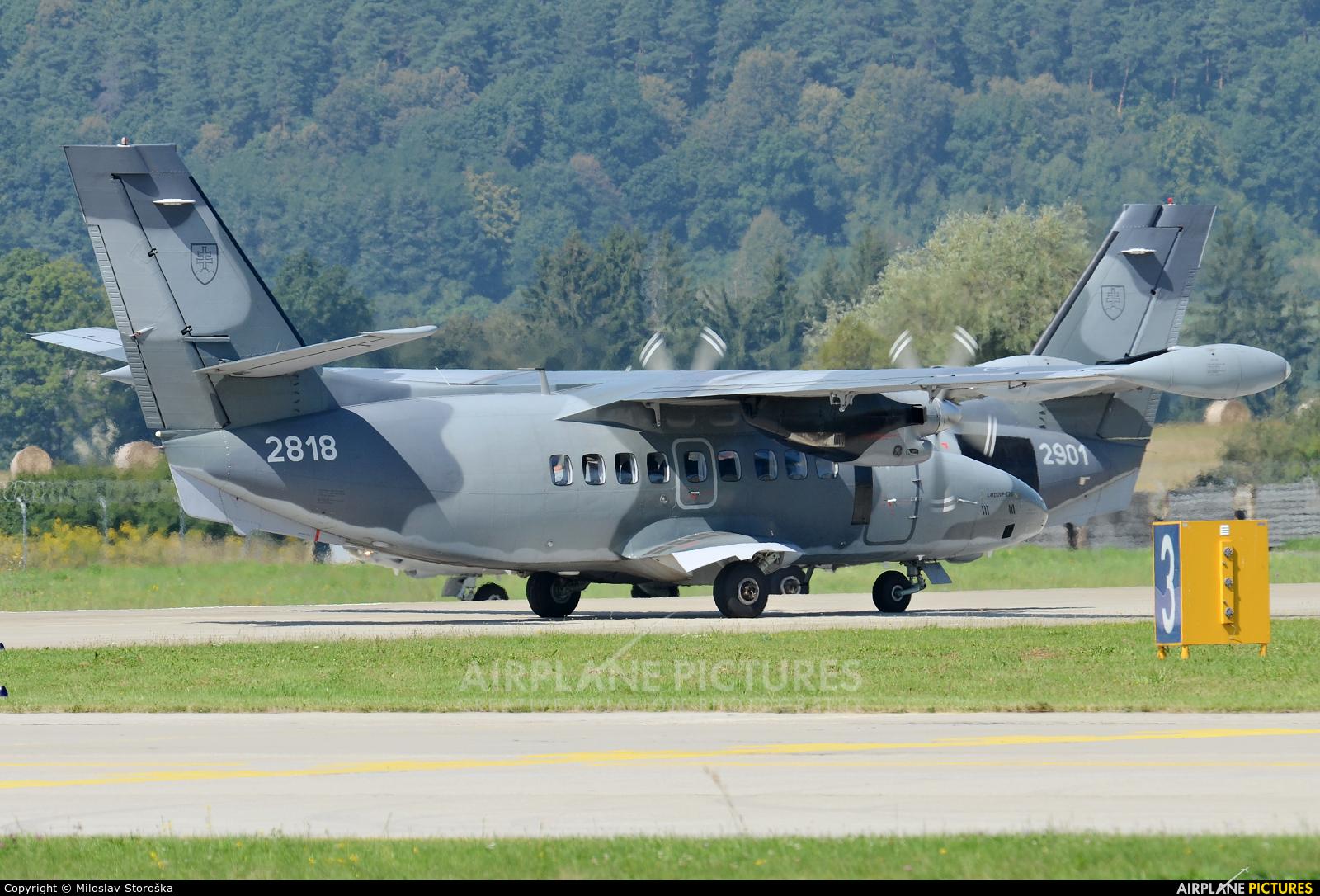 Slovakia -  Air Force 2818 aircraft at Sliač