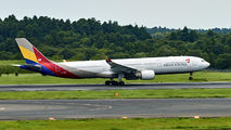 HL7740 - Asiana Airlines Airbus A330-300 aircraft
