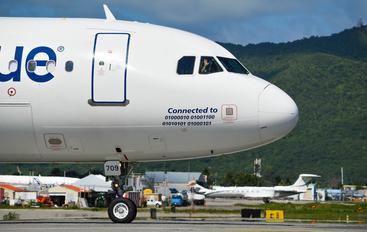 N709JB - JetBlue Airways Airbus A320