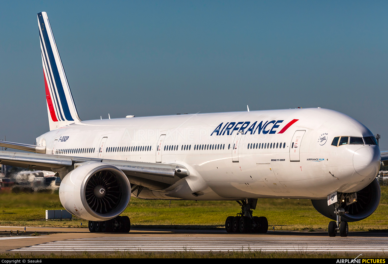 Air France F-GSQP aircraft at Paris - Orly