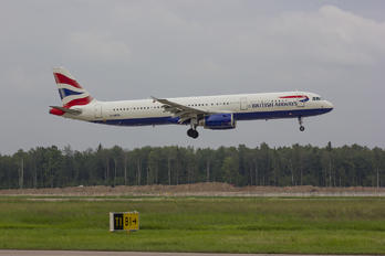 G-MEDL - British Airways Airbus A321