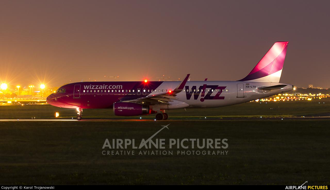 Wizz Air HA-LYA aircraft at Warsaw - Frederic Chopin