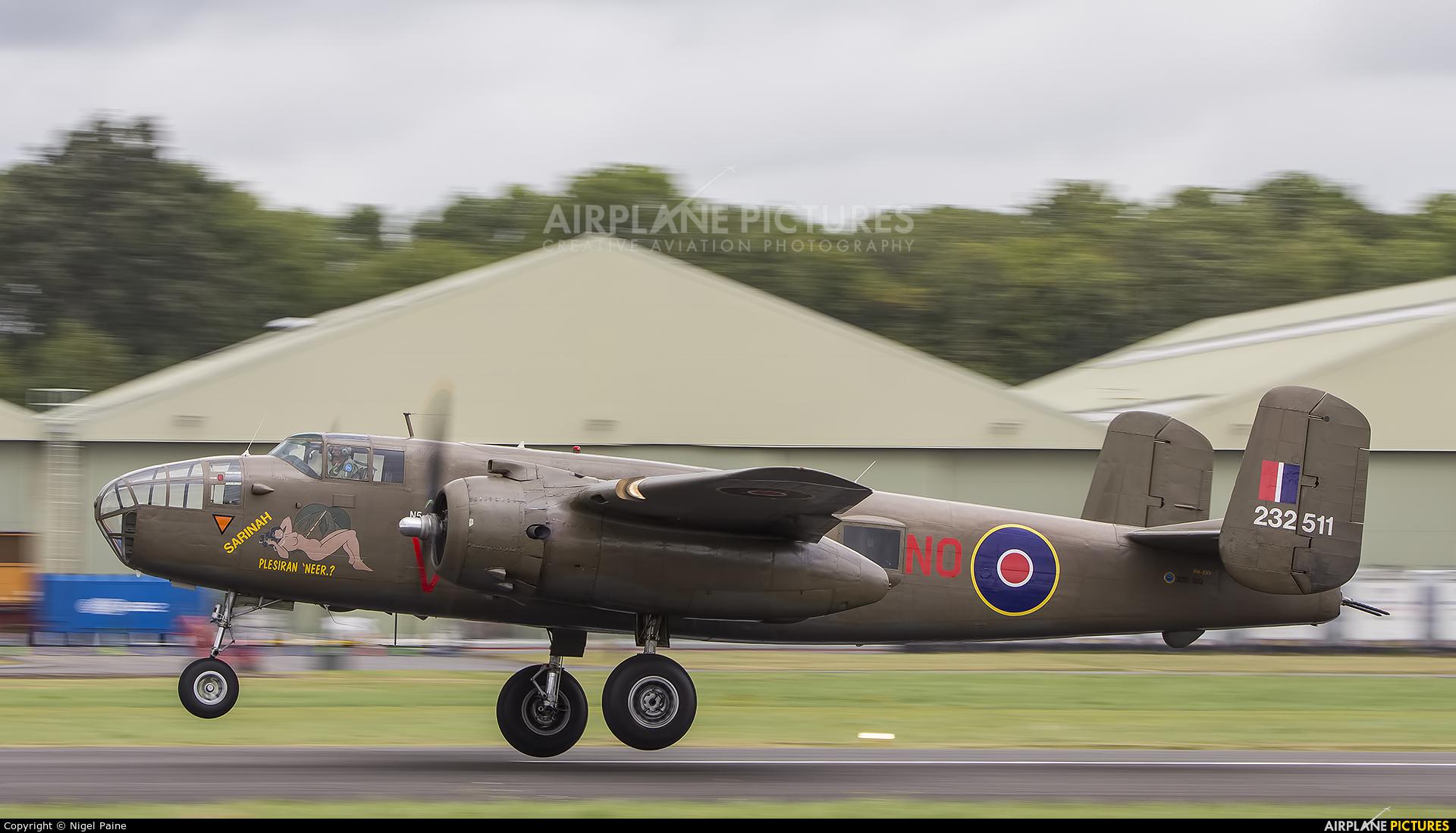 "Netherlands - Air Force ""Historic Flight"" PH-XXV aircraft at Dunsfold"