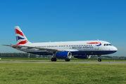 G-GATK - British Airways Airbus A320 aircraft