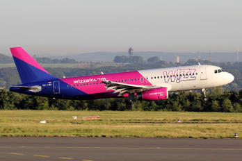 HA-LWH - Wizz Air Airbus A320