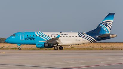 SU-GCY - Egyptair Express Embraer ERJ-170 (170-100)