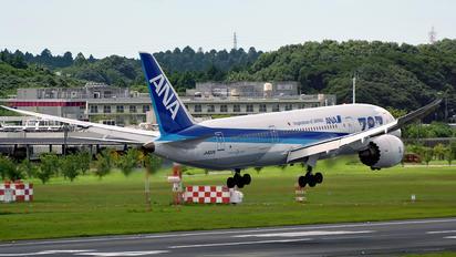 JA822A - ANA - All Nippon Airways Boeing 787-8 Dreamliner