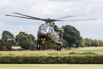 ZJ118 - Royal Air Force Agusta Westland AW101 411 Merlin HC.3