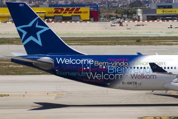 C-GKTS - Air Transat Airbus A330-300