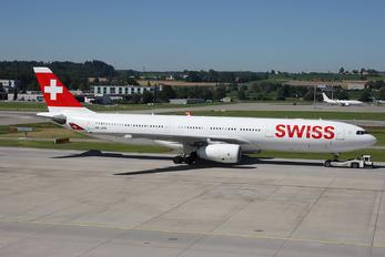 HB-JHM - Swiss Airbus A330-300