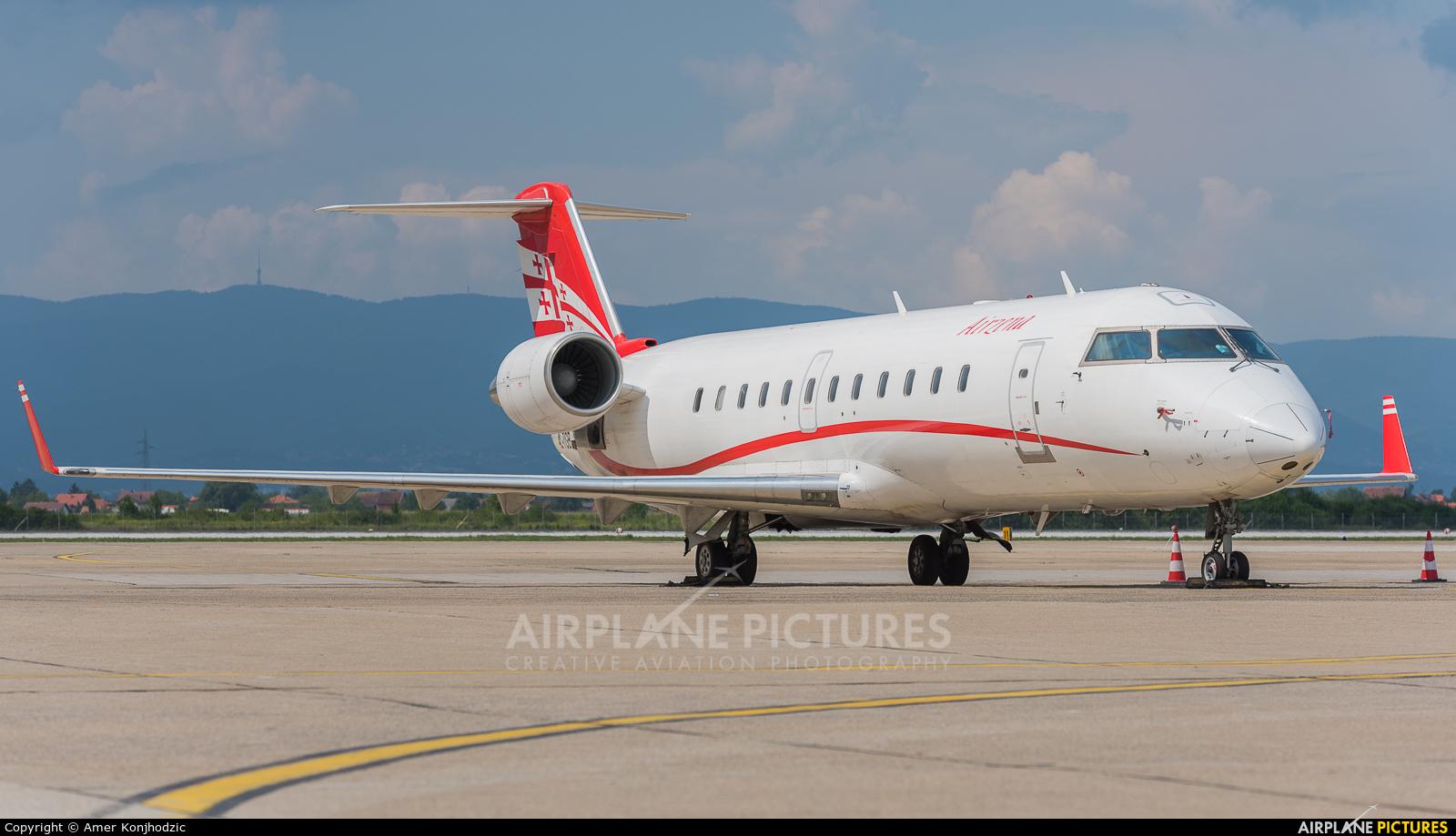 Airzena - Georgian Airlines 4L-TGB aircraft at Zagreb